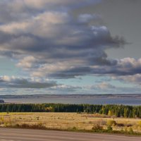 Октябрь над Обвой :: Валерий Симонов