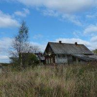 дом в деревне :: Борис Грязнов