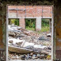 Развалины дома культуры :: Александр Морозов