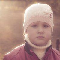 Грустные детские глаза :: Марина Кириллова