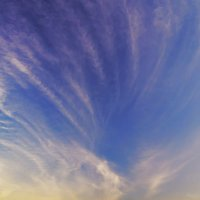 Облака при закате :: Юрий Стародубцев