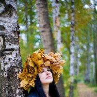 Портрет осени :: Дарья Тихонова