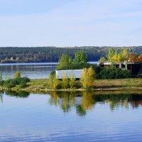 Набережные Челны, небольшой полуостровок :: Сергей Яковлев