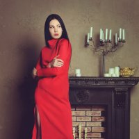 lady in red :: Зарема Сатторова