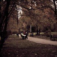 Осенний парк :: Александр Секретарев