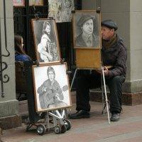 Жил-был художник один... :: Юрий Бомштейн