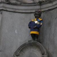 Писающий мальчик Брюсселя. :: Алиса Фадеева