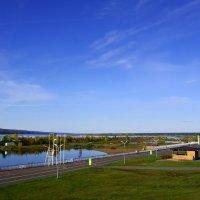 Вид на городской пляж г. Набережные Челны :: Сергей Яковлев