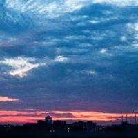 Закат над городом :: Наташа С