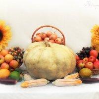 Овощной натюрморт :: Марийка Кислая