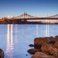 Тверь_Волга_вид на Старый мост_закат 03 :: Виктор Готлиб
