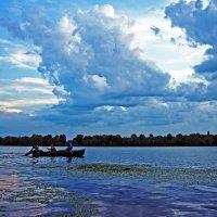 The River before Sunset :: Roman Ilnytskyi