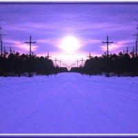 Зимняя дорога :: Valeriy Somonov