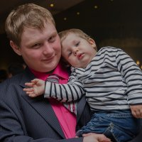 Павел с сыном :: Марк