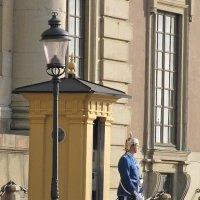 Стокгольм. Часовой у королевского дворца :: Ольга Иргит