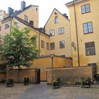 Дворик в старой части Стокгольма :: Ольга Иргит