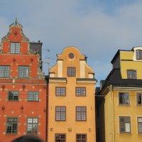 Стокгольм. Дома на площади Стурторьет :: Ольга Иргит