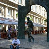 Я себя Окуджавой меряю... :: Борис Русаков