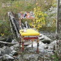 Инсталяция на развалинах :: Елена Наумова