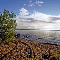 утро на Онежском озере... :: Виктория Колпакова