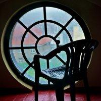 У окна (вид из окна башни маяка) :: Алёна Михеева