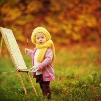 Маленькая художница :: Наталия Жмерик