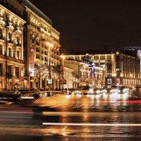Ночные улицы Москвы 1 :: Борис Гольдберг