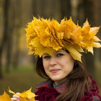 Подружка осень :: Дмитрий Мантуш