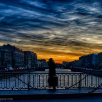 Вечер на Фонтанке :: Александр Максимов