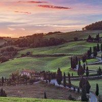 В Тоскане снова рассвет :: Владлен Абдулин Abdullin