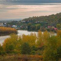 Вечер над деревней Худоногово :: Александр Иванов