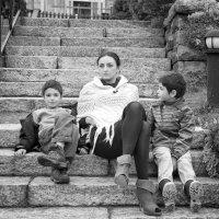 Кристина и ее мальчики :: Elena Kuznetsova