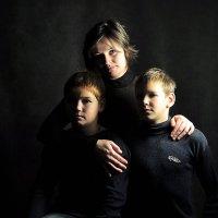 Семейный портрет :: Елена Кузнецова