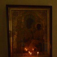 Икона, свечи, лампада. :: Sergey Serebrykov
