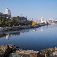 Днепропетровская набережная :: Вячеслав Харченко