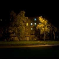 Дорога, улица, фонарь. :: Андрей Бурлака