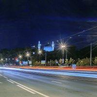 Каменноостровский проспект ночью :: Valerii Ivanov