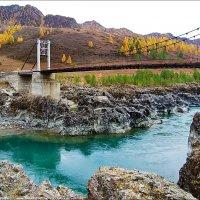Порог Тельдекпень. Ороктойский мост :: Виктор Четошников