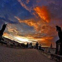Рассвет над карликовым мостком... :: АндрЭо ПапандрЭо