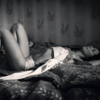 on the bed :: Антон Кравцов