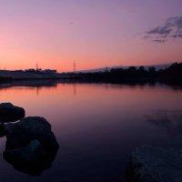 Evening , river , I and my canon :: Diana Tukhvatullina
