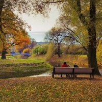 осень в парке :: Ирэна Мазакина
