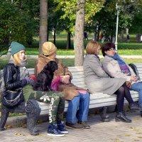 Сидят девчонки...... :: РАИСА Osipova