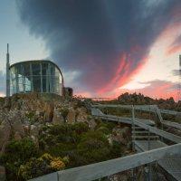 Закат на горе Веллингтон. :: Wattletree -
