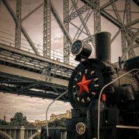 старый поезд :: Татьяна Исаева-Каштанова