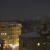 Зимний город Ивано-Франковск :: Андрей Боб