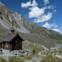 Где-то там, в горах... :: Мария Кривошеина