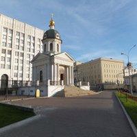 Церковь-часовня Бориса и Глеба :: Юрий Бомштейн