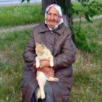 Портрет с котом. :: Елизавета Успенская