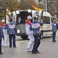 Олимпийский огонь в Рязани 15 октября 2013 :: Svetlana Sneg